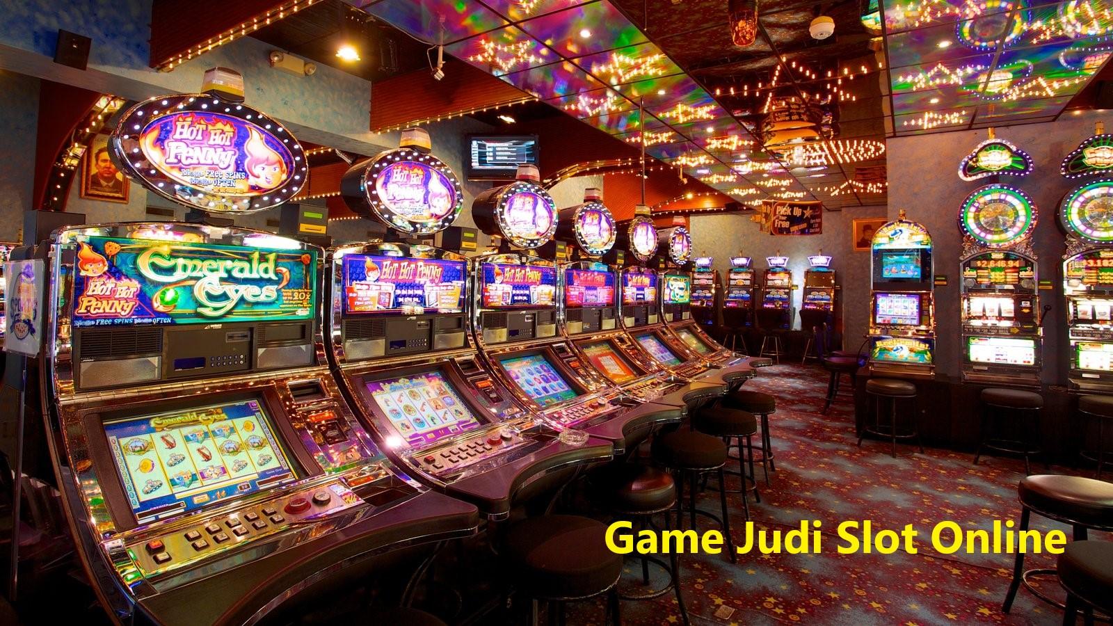 Game Judi Slot Mesin