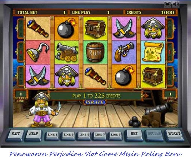 Penawaran Perjudian Slot Game Mesin Paling Baru